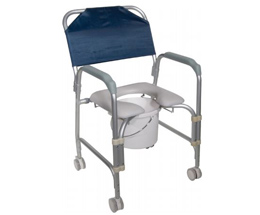 Wheeled Shower commode