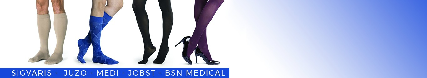 Compression stockings Banner