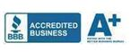 Accredited A+ Better Business Bureau logo