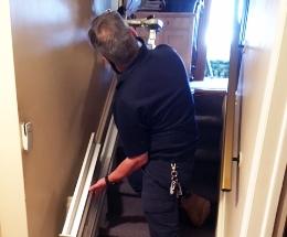 Installation de monte-escaliers