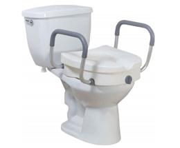 Sièges de toilette surélevés