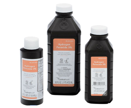 3 Bottles of Hydrogen Peroxide