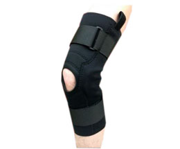 MKO Black Knee Brace