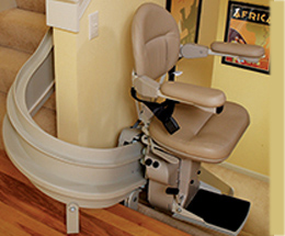 Curved Bruno Stair Lift